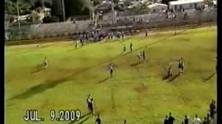 senior qb andrew manley 2009 football 7 on 7 pass league highlights