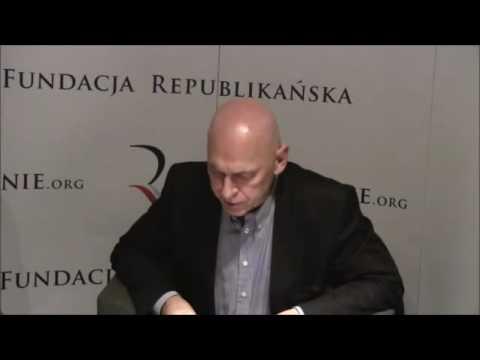 Leszek Żebrowski  about 'AFTERMATH' at Republican Foundation