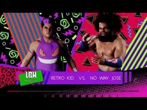 WWE 2K18: LBW WORLD TITLE TOURNEY