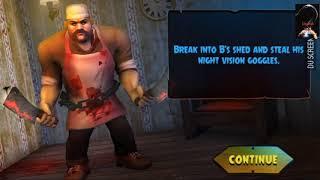 #ช่วงhannahเเคสเกมส์ scary butcher 3d