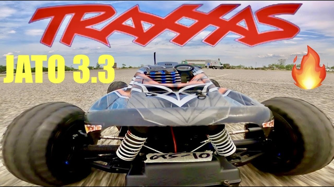 Traxxas Jato 3.3 - The Fastest Nitro RTR You Can Buy BRAND NEW 💥 - 2 SPEED BABY!