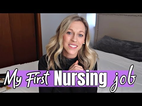 My First Job as a New Grad Nurse | Nursing Interview Experience, Specialty & How I Chose It