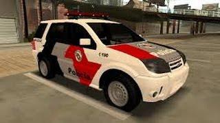 Blazer da Polícia de SP (GTA SA-Android)