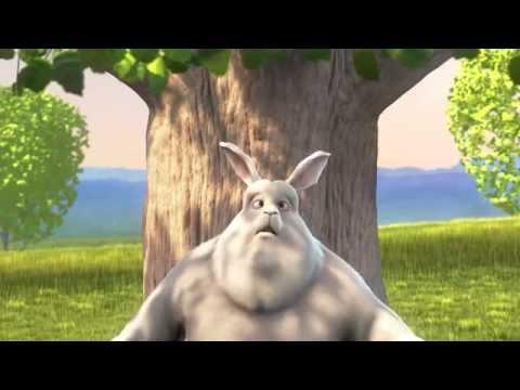 Позитив:) Мультфильм о большом кролике Big Buck Bunny