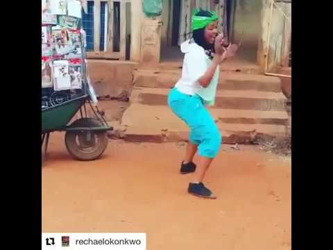 Rachael Okonkwo dancing on set