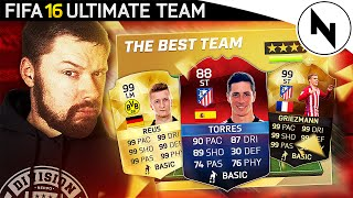 THE BEST TEAM IN FIFA! #18 1,200,000 COIN TEAM! - FIFA 16 Ultimate Team
