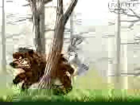 Порно мультфильм о медведе и зайце