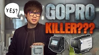 UNBOXING THE SONY X3000R - Is This The GoPro Killer??