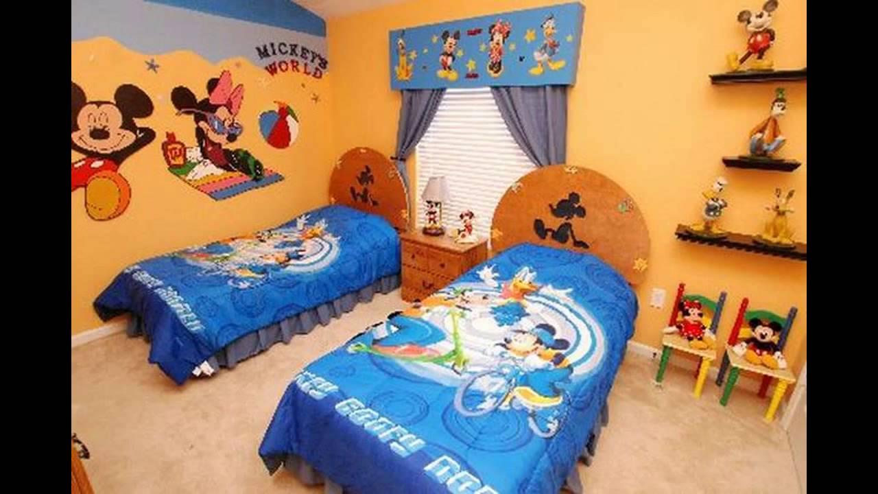 Disney Themed bedroom design ideas - YouTube