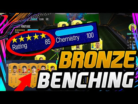 FIFA 21 | Does BRONZE BENCHING Give EASIER MATCHMAKING!? - FIFA 21 ULTIMATE TEAM (FIFA EXPERIMENT)