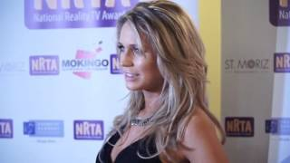 Celebrities Arrive On The Red Carpet At The Reality TV Awards In London