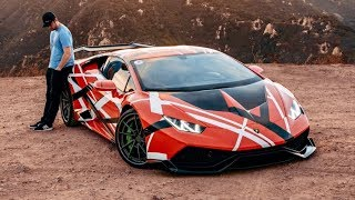 NEW LAMBORGHINI WRAP REVEAL! *FINALLY* thumbnail
