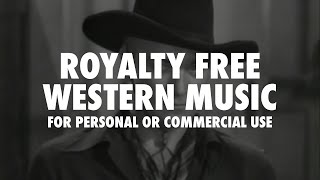 Free Wild West Western music (Royalty free)