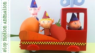 The Elf Field Ben & Holly's Little Kingdom Stop Motion Animation