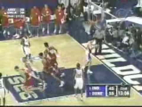 Indiana vs. Duke -- 2002 NCAA Regional Semifinals