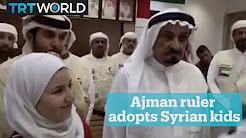 Ruler of Ajman adopts two Syrian children