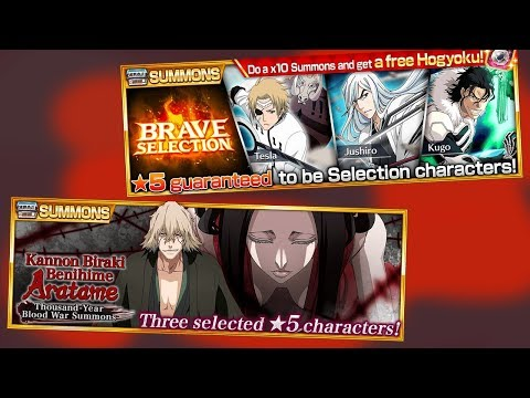 Bleach Brave Souls: Kisuke Summons e Brave Selection Summons!!! Olha a ARMADILHA!!! - Omega Play