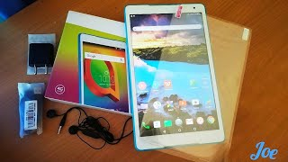 Alcatel A3 10.1 inch Tablet review & unboxing | best tablet under 10000