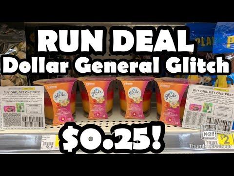 🗣 RUN DEAL 🏃🏽♀️ $0.25 GLADE Candles! Dollar General Glitch!