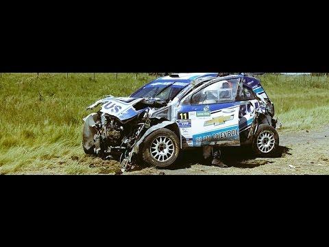 Fuertes imágenes: el impactante accidente que sufrió David Nalbandian