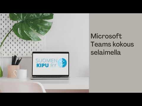 Microsoft Teams Ohje