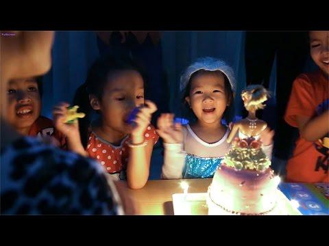 N'Prim W259 เด็กจิ๋ว@ปาร์ตี้วันเกิด 5 ขวบ ตอนเป่าเค้กวันเกิด