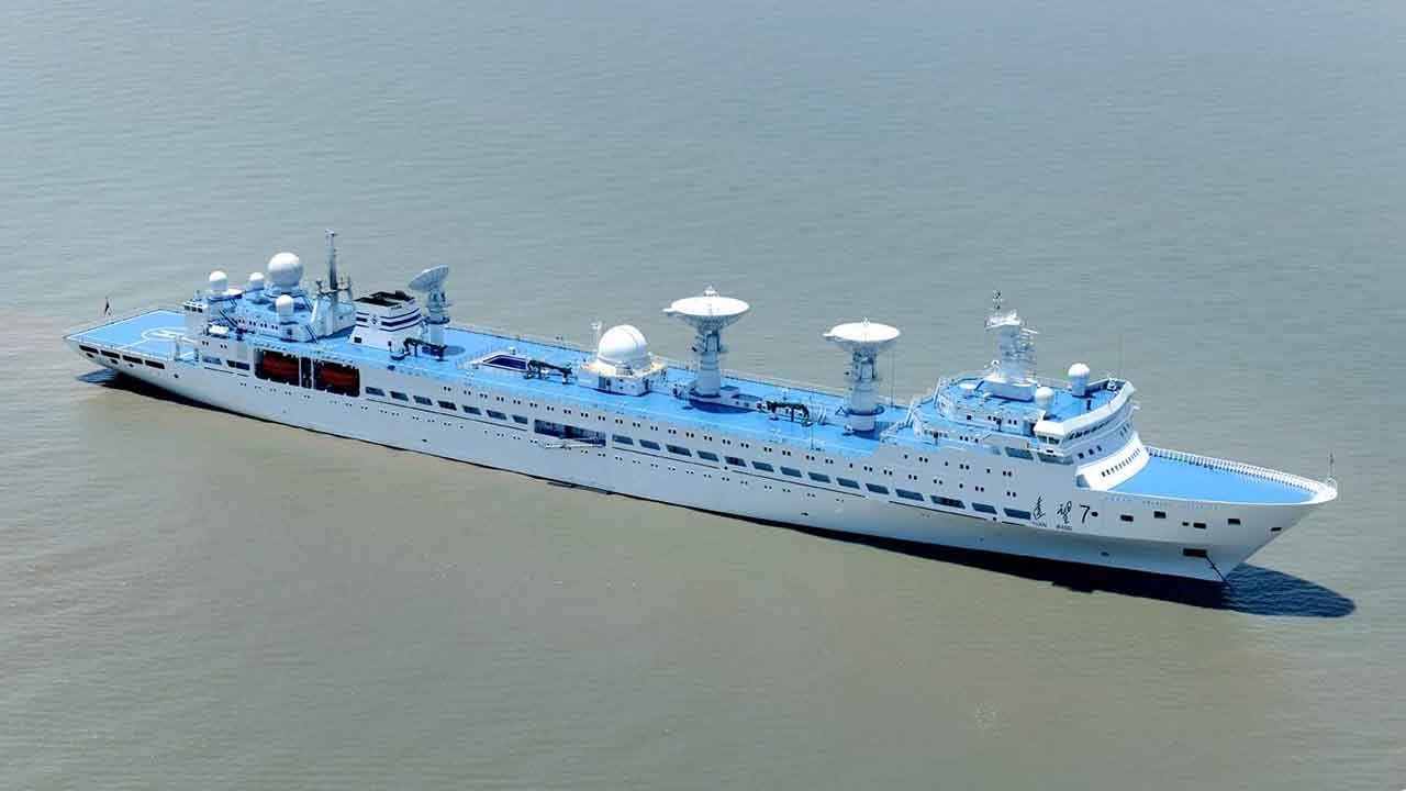 Chinese Space Tracking Ship Completes Maritime Monitoring Mission - Cruise ship location tracker