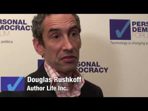 Q & A: Mark Pesce & Douglas Rushkoff - Making Participatory Democracy Sexy