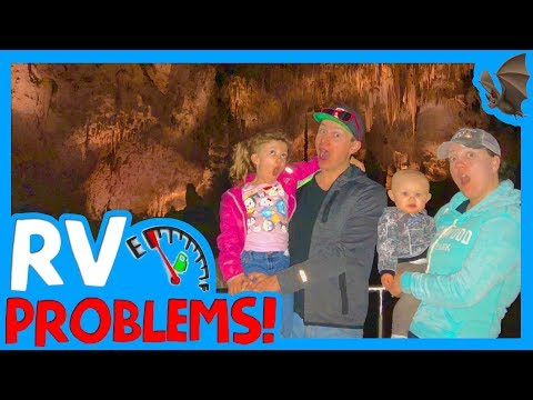 🦇 RV CARLSBAD CAVERNS ⛽️RV Problems Running Out Of Gas! 😡