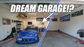 TRANSFORMING THE NEW GARAGE!!
