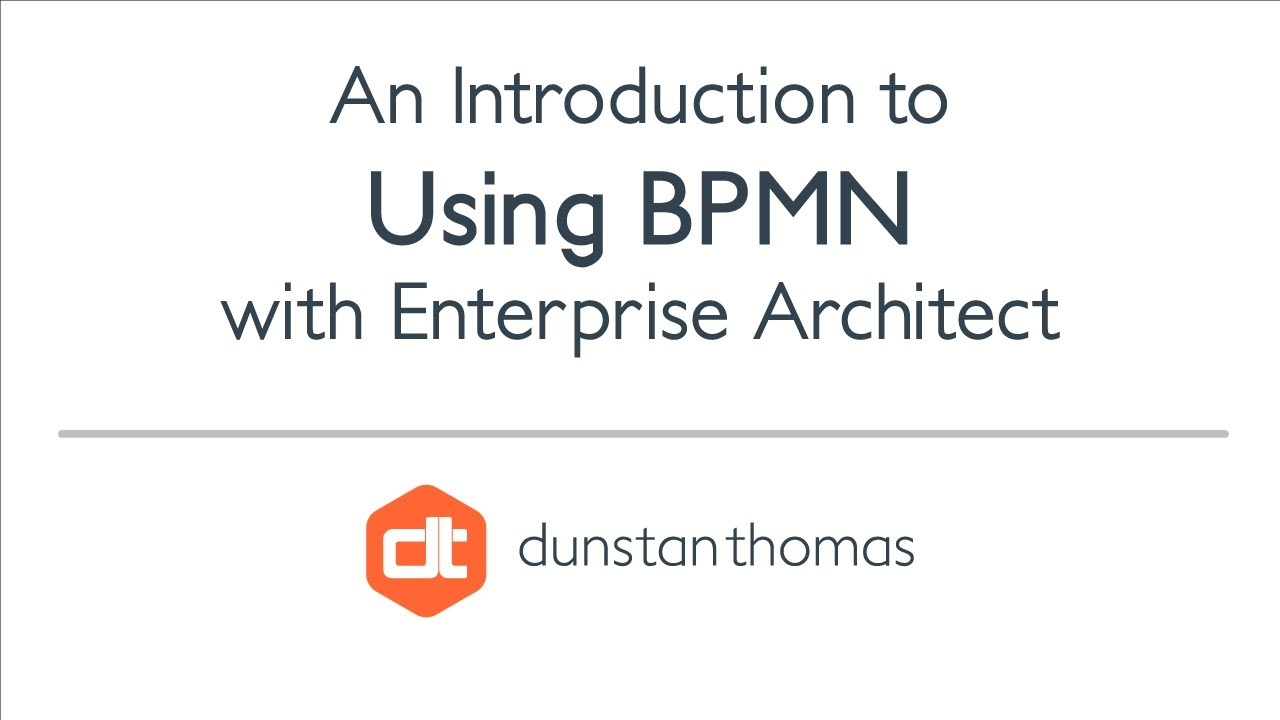 an introduction to using bpmn with enterprise architect youtube - Bpmn 12