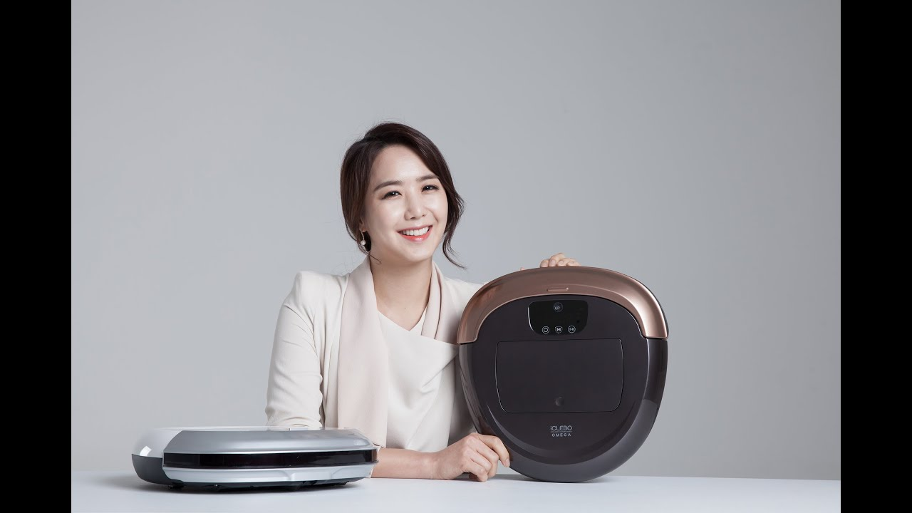 Робот-пылесос iCLEBO Omega - YouTube