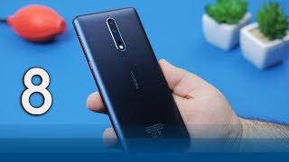 Nokia 8 Review | موبايل اليوتيوبر الاول !!