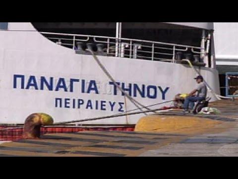48-hour seamen's strike leaves Greek ships in port until Saturday