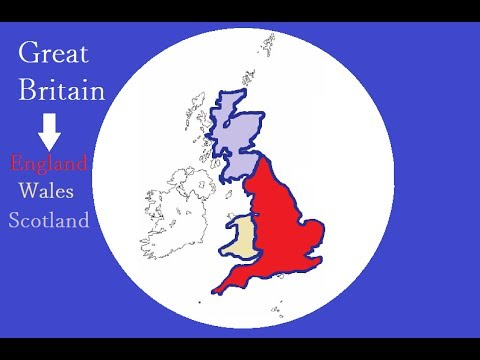 What Is The Difference Between England, The UK And Britain? ¦ British Geography Explained