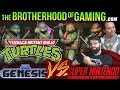 Teenage Mutant Ninja Turtles // SEGA vs SNES // The Brotherhood of Gaming