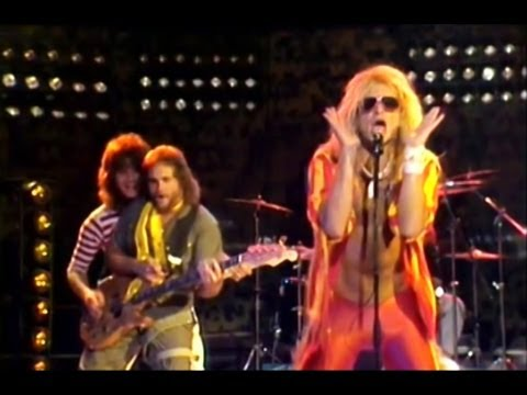 "Van Halen - ""Mean Street"" - 1981 Italian TV Performance Lip Sync [HIGHEST QUALITY]"