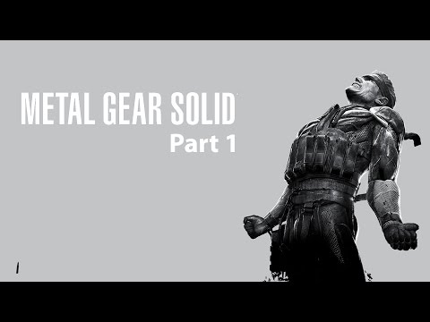 Metal Gear Solid Part 1 (czytaj opis) / 1080p 60fps - Story mode #01