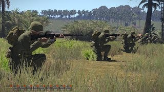 Most Realistic Game About Vietnam War ! Fps On Pc Arma 3 Vwm Mod