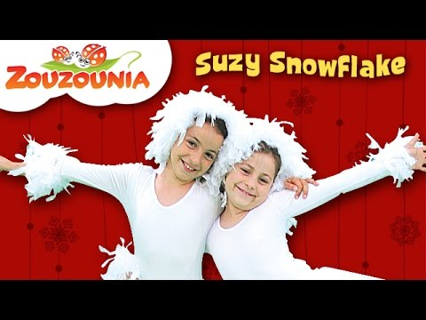 Suzy Snowflake | Zouzounia feat. Anna Rose & Amanda | Christmas Songs for kids