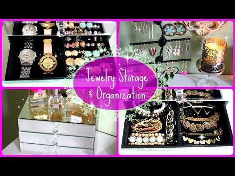 Jewelry Organization & Storage