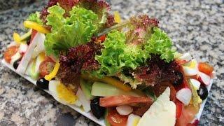 Salade niçoise --------------- سلطة نيسواز منظر ومذاق