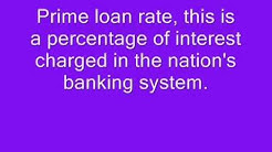 Know Your Bank Prime Rate