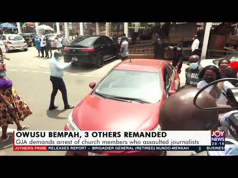 GJA demands arrest of church members who assaulted journalists - Joy News Prime (14-9-21)
