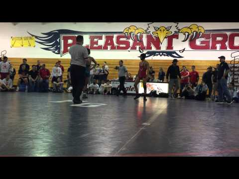 Delta League Championships 2-14-2015 Anthony Wesley