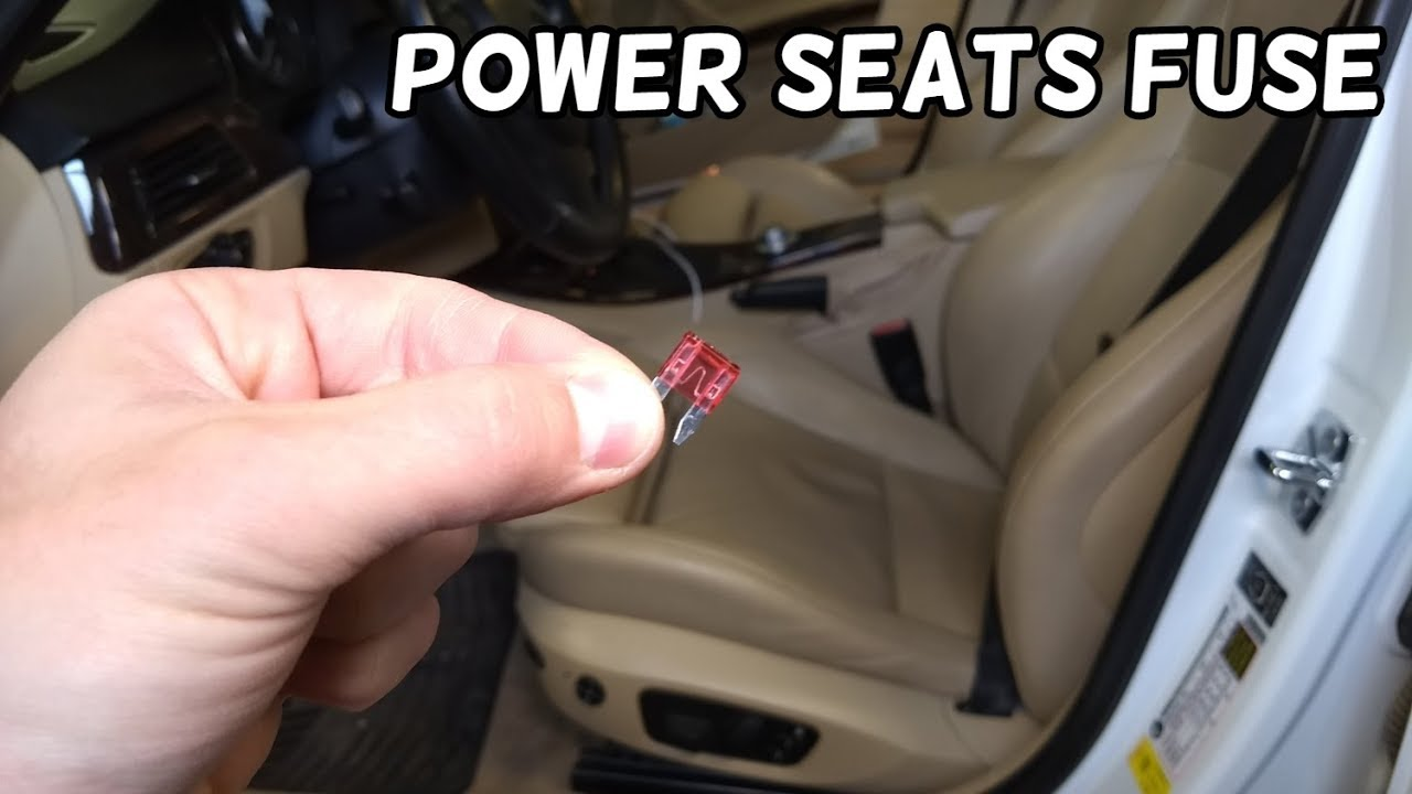 power seat fuse location bmw e90 e91 e92 e93 youtube