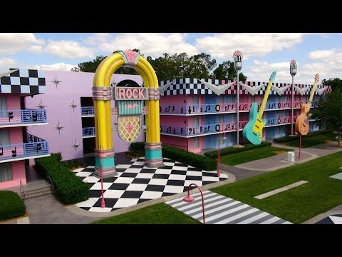 Disney's All Star Music Resort 2014 Tour and Overview - Walt Disney World