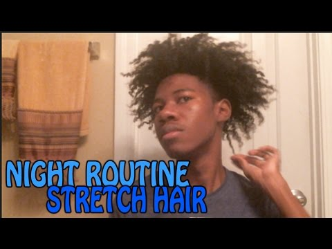 Night Routine | How to Maintain Twist out | Prevent Shrinkage on Natural Hair