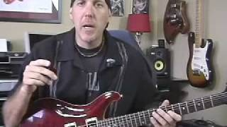 Guitar Lesson learn pinch harmonics or artificial harmonics
