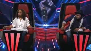 "The Voice Angola ep1 Manuel Borges ""Papa - Matias Damásio"" 11/10/2015"